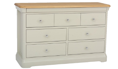 Chest Of 7 Drawers 4+3