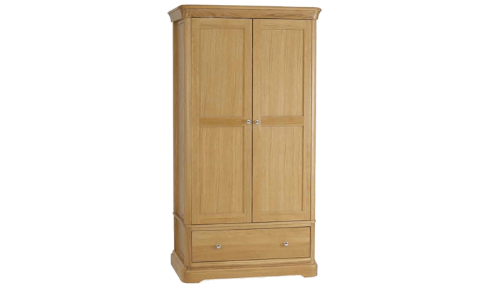 Wardrobe with 1 Drawer