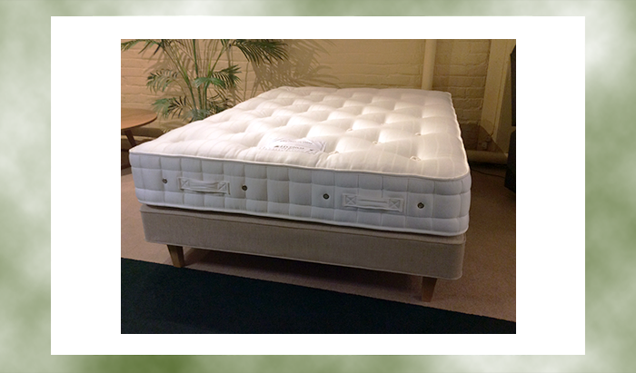 Double Elite Posture Wool Bed