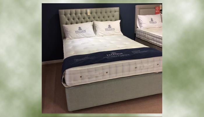 Kingsize bed and Eleanor headboard